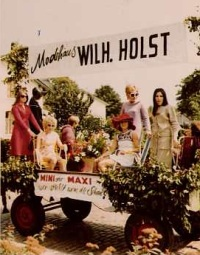 Modehaus Holst 1970